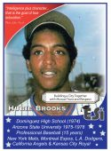 Front of Card Derrel Hubie Brooks
