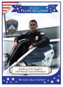 Front of Card Officer Gallegos