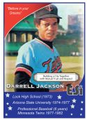 Front of Card Derrel Jackson